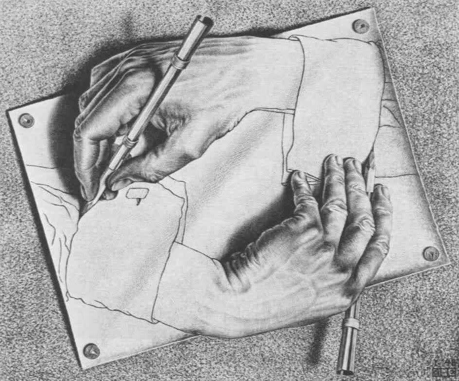 schrijven op een